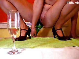 Divertimento de champanhe