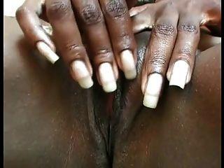 Masturbação preta da mamã