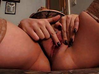 Mamã masturbação