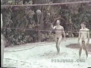 Nudista retro