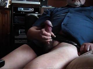 Velho gordo empurrão 2