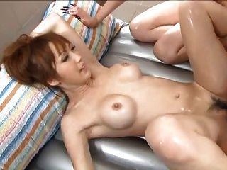 Yuki mizuho e karin asamiya massagem molhada 4 = fd1965 =