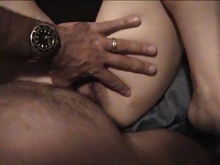 Esposa usado big dildo