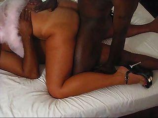 Esposa tan \|Amador|dupla penetração|interracial|