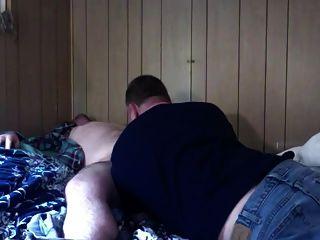 Dois homens quentes fodendo