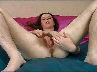 Bela garota bonita peludo pussy