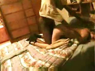 Marido gravar sua esposa com um amigo negro