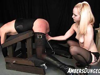 sexy lingerie girlfriend in oral sex scene