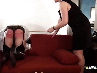 Lena k castiga a empregada doméstica