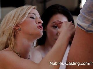 Nubiles casting cum swallowing cutie realmente quer este trabalho