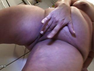 Amador mãe madura e seu corpo delicioso