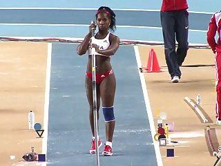 Yarisley silva: sexy ass cubano olimpíadas pole vault ameman