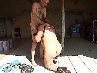 Puta escrava madura nua