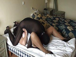 Sexo com minha meia-calça gf parte 2 de 3