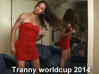 Tranny copa do mundo 2014 com nikki ladyboys