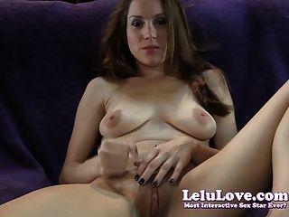 Lelu amor masturbação mútua comendo instrução
