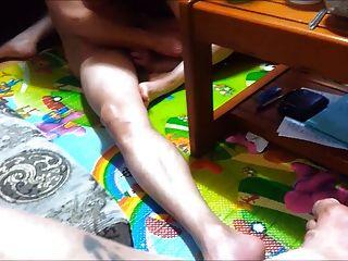 Novo vídeo coreano compartilhando esposa com um amigo