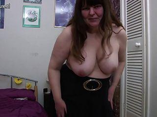 Amador madura mãe com fome vagina