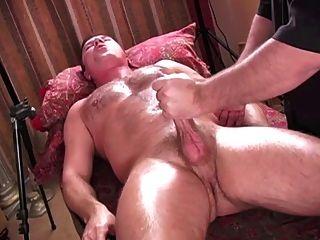 Orgasmo intenso de handjob