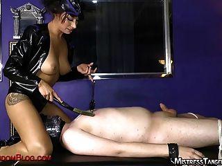 Bola busting sufocar com mistress tangente
