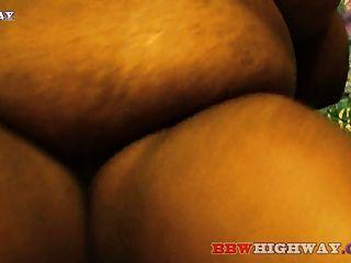 Gordura ebony bbw com grandes mamas suga grande preta galo