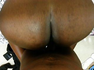 Enorme, africano, faculdade, booty, keesha