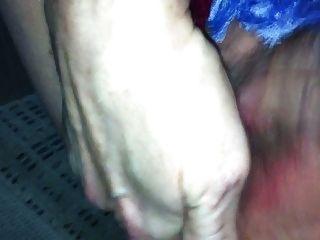 Quickie do natal!Pussy rub