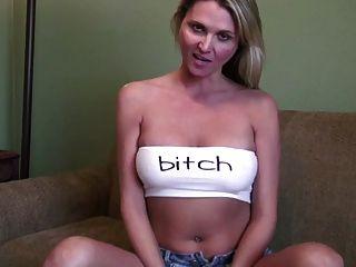 Ela quer que você prove isso.