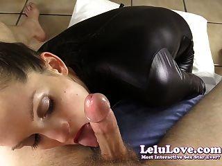 Lelu love catsuit pov teasing boquete cumshot