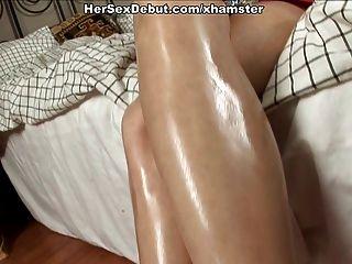 Jogos de sexo muito difícil para a buceta e bunda de amador babe