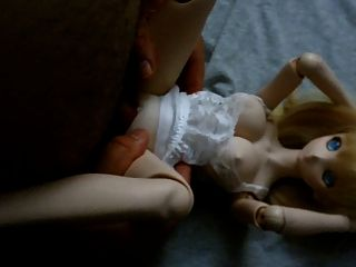 Boneca de boneca boneca onahole dollfie anime bonito loira