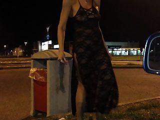 Silvia passrggiata al mc donald