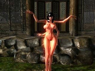 Lâmina e alma nude mod dança