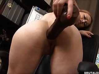 Grandes anal dildos alongamento