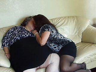 2 bbw lésbicas