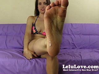 Lelu love dominar os pés asshole adoração