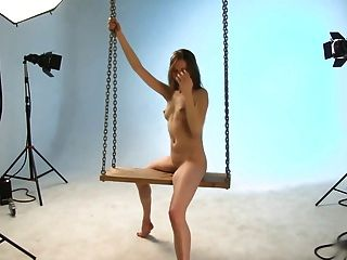 Bailarina annettPhotoshoot do balanço.