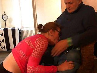 Slut com fome de velho dick