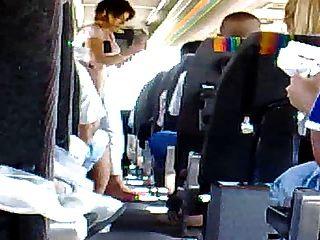 Masturbação em ônibus 2 drkanje u busu 2