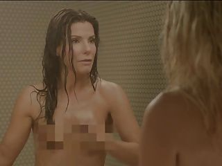Sandra bullock e chelsea manipulador no chuveiro