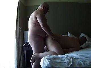 Detroit chub barefucked por grande calvo urso