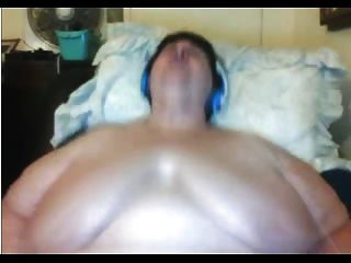 Bbw granny masturbando na webcam