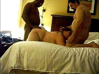 Esposa do bbw no threesome