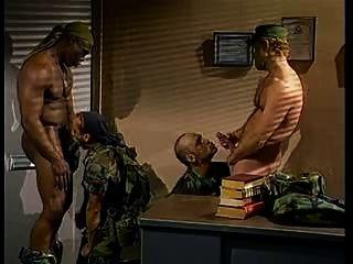 Homens militares especiais quentes