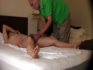 Massagem orgasmic da esposa japonesa