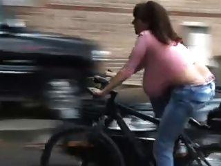Cabides em bicicleta