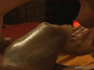Sensual e erotica prostata massagem