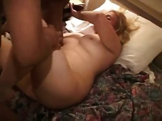 Menina branca recebe bbc no motel