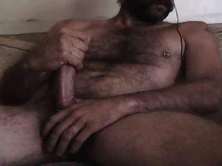 Cachorro quente e peludo cums