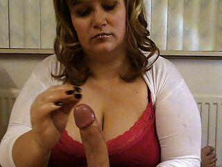 Milf com grandes boobs tease e negação